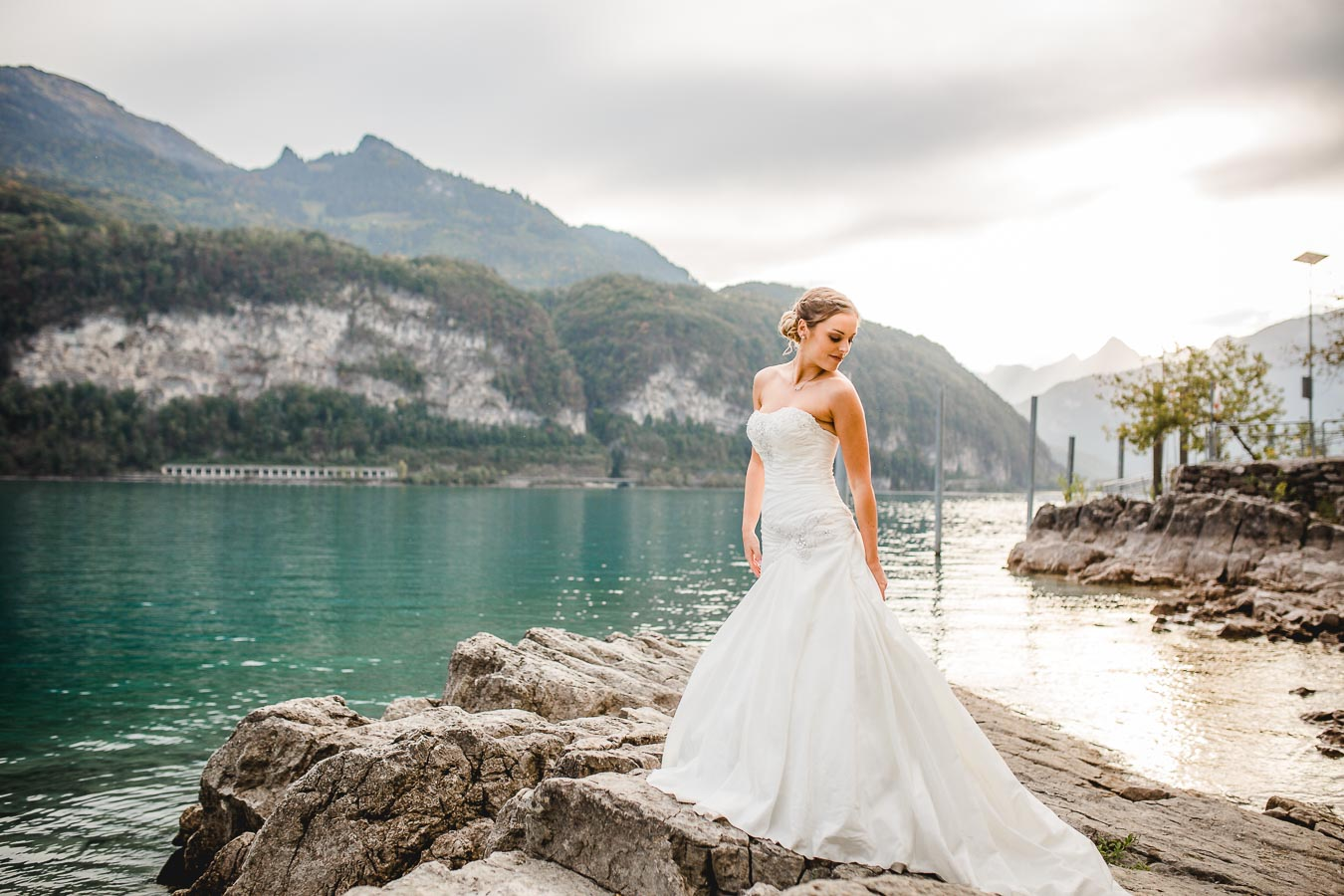 , After-Wedding-Shooting am Walensee